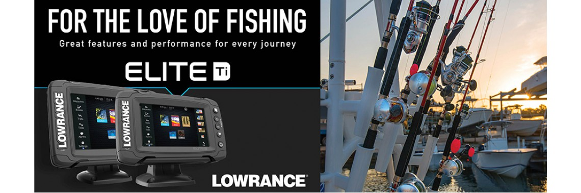 Новинка от Lowrance Elite Ti Series