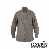 Рубашка Norfin COOL LONG SLEEVES GRAY 01 р.S